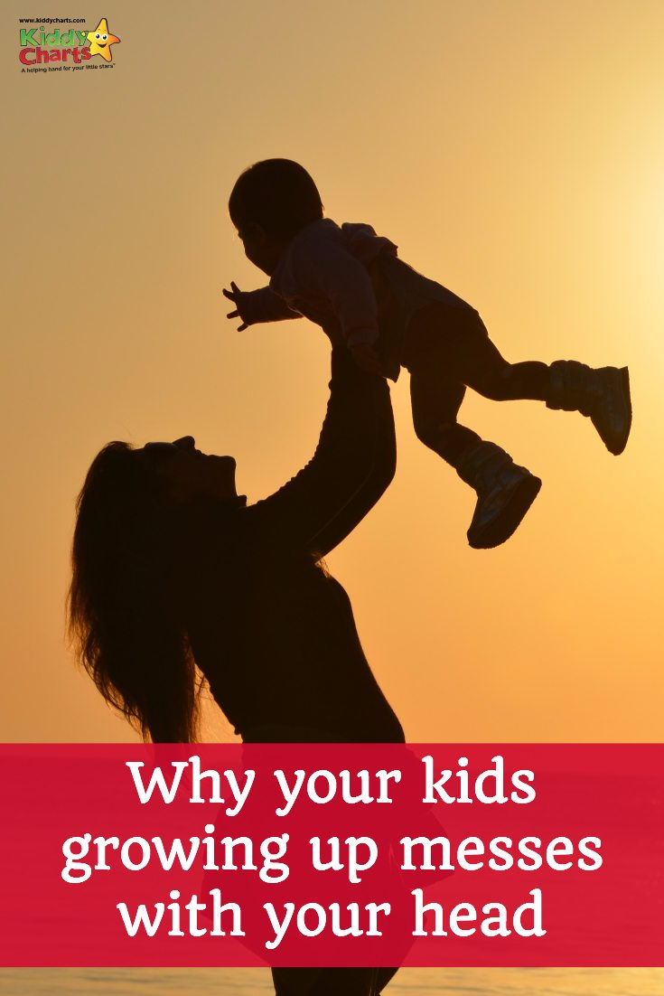 Are you kids growing up messing with your head - lets chat about it and have a laugh, come on over and check out our real kiddychart on this!