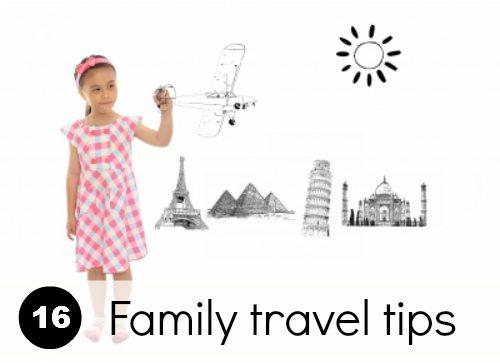 Kids Travel: Tips