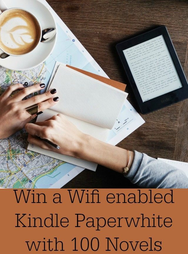 We have a kindle paperwhite to giveaway on the blog today thanks to the free eBook service 100 Novels. Closes
