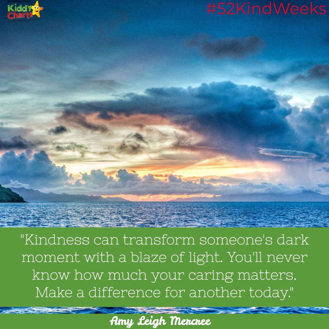 Kindess cost nothing and make so much of a difference to people. Visit the site, and make a Kindness Tree with your kids for someone today. It'll make their day. #52KindWeeks #Kindness #BeKind2017 #homeschool