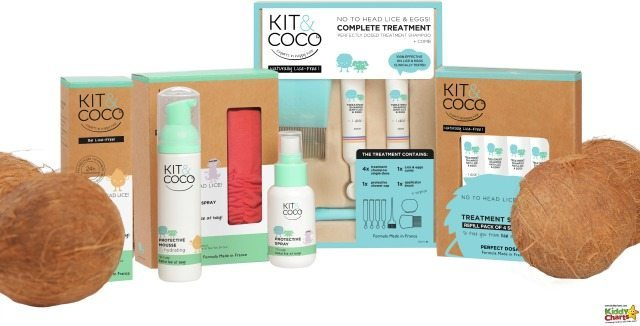 Kit and Coco is a natural brand for getting rid of nits in hair. It is worth checking it out; £15 for peace of mind, and no washing out, or greasy hair. Works for me.
