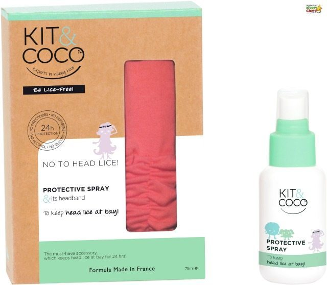 Kit & Coco is a natural nit treatment, but it also includes protection products too; something that we have found hard to find previously. Get stocked up when you get one of THOSE school letters....