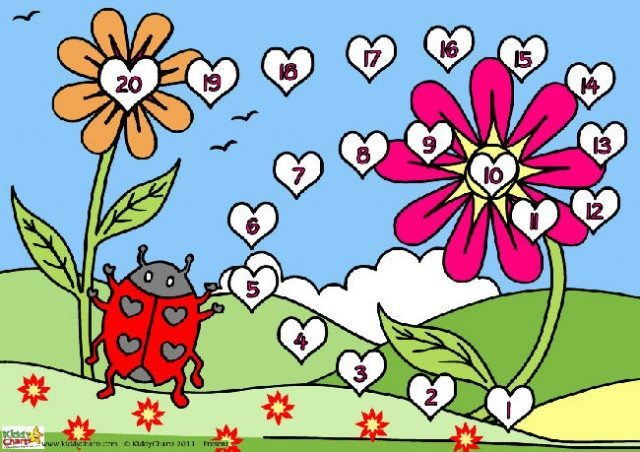 This is the full colour version of the Valentine reward chart with a ladybird design - we hope you like it. Why not download it now to help with whatever challenges the kids are giving you at the moment? Its free after all.
