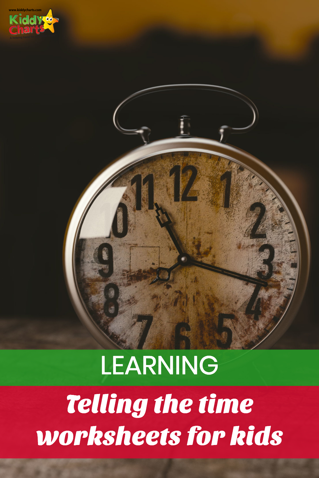 Amazing free learning to tell the time worksheets for kids #learning #time #kids #homeschool