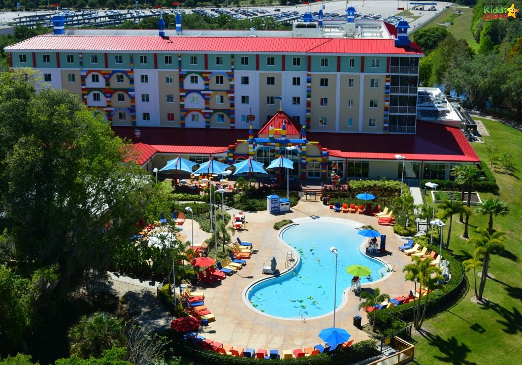 The hotel in Legoland Florida looks like a great place to stay - and the Island in the Sky is well worth a ride just for the views of the park too!