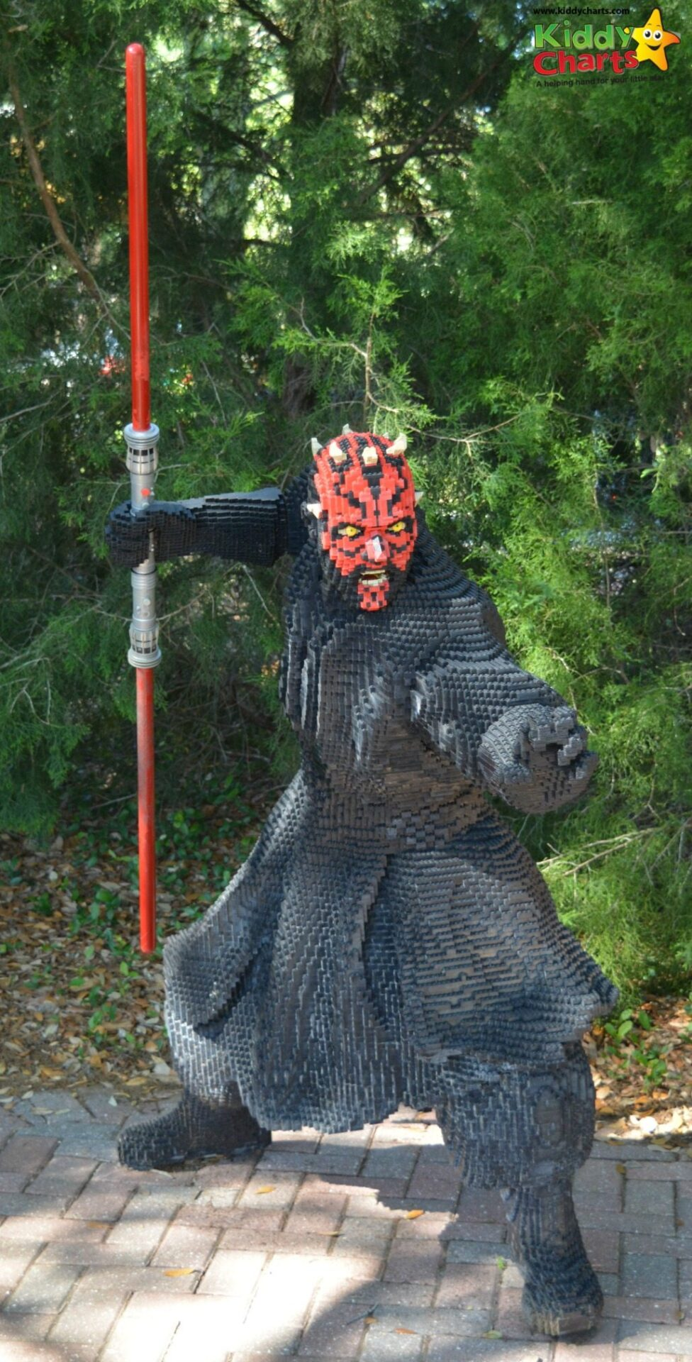 Darth Maul within the Legoland Florida Miniland is definitely one of MY favourites there...