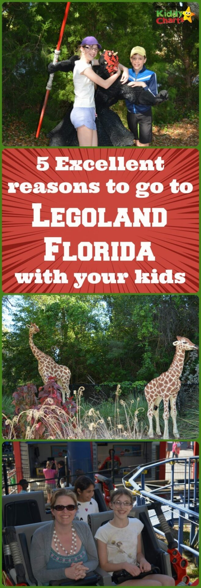 We LOVED Legoland Florida with our two children, and here are five reasons why we liked it so much. And my daughter designed this pin for you all too - she was THAT inspired by the park! ;-)