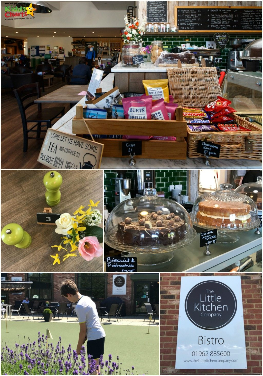 What did we think of the Little Kitchen Bistro Winchester for our family lunch? Read the blog to find out, and watch out for those cakes!