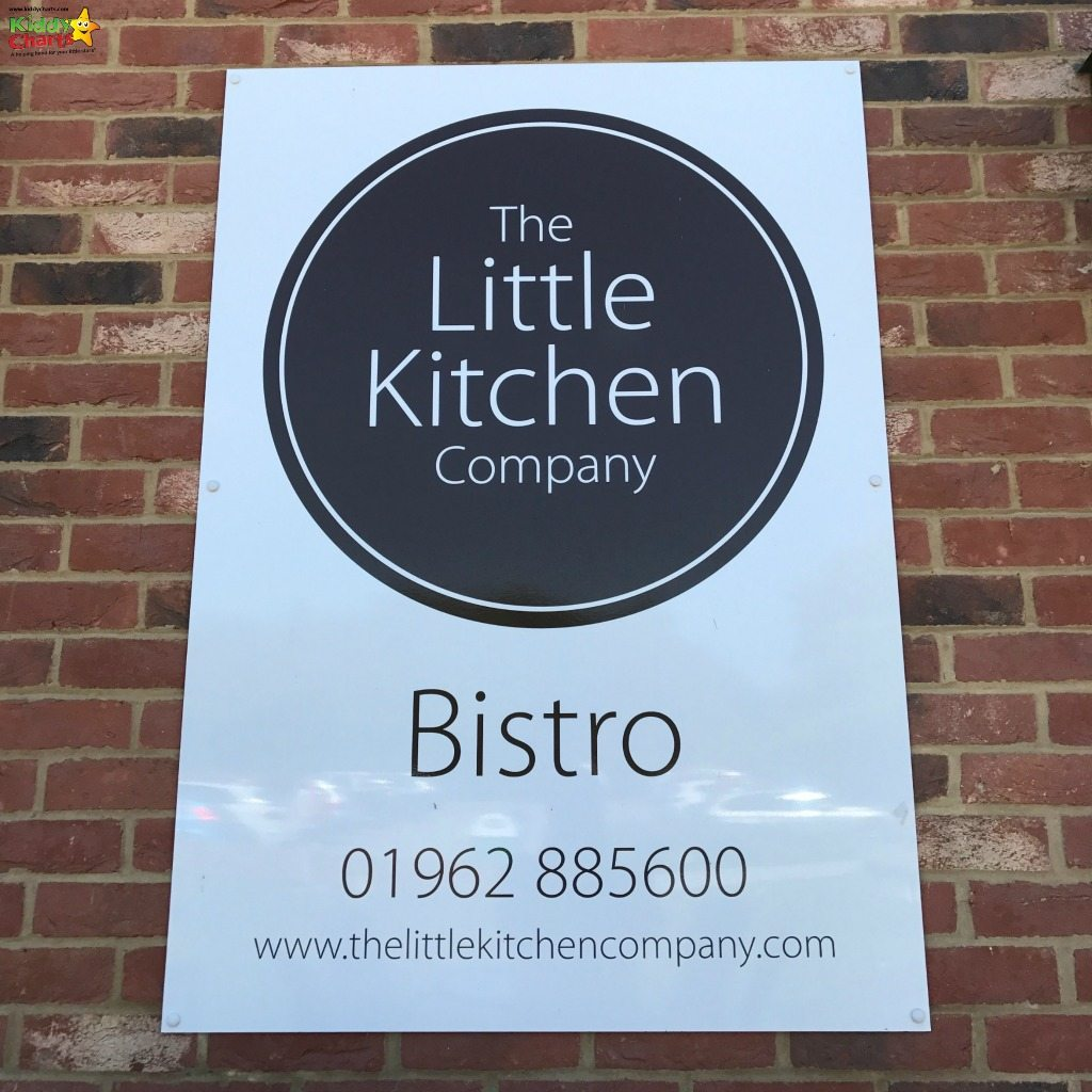 Now THAT'S a great way of getting those contact details out there. Great job Little Kitchen Bistro Winchester!