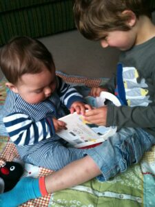 Little leaners review: playing with our book