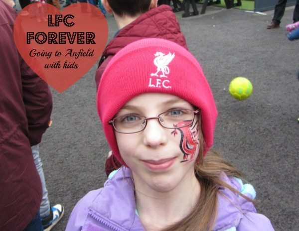 Liverpool Football Club with Kids: Chatterbox smiles