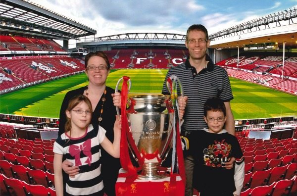 Liverpool Football Club: Champions League Trophy