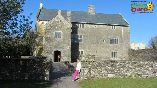Llancaiach Fawr Manor House in Wales is a great place to take the kids to learn about how people lived in 1645