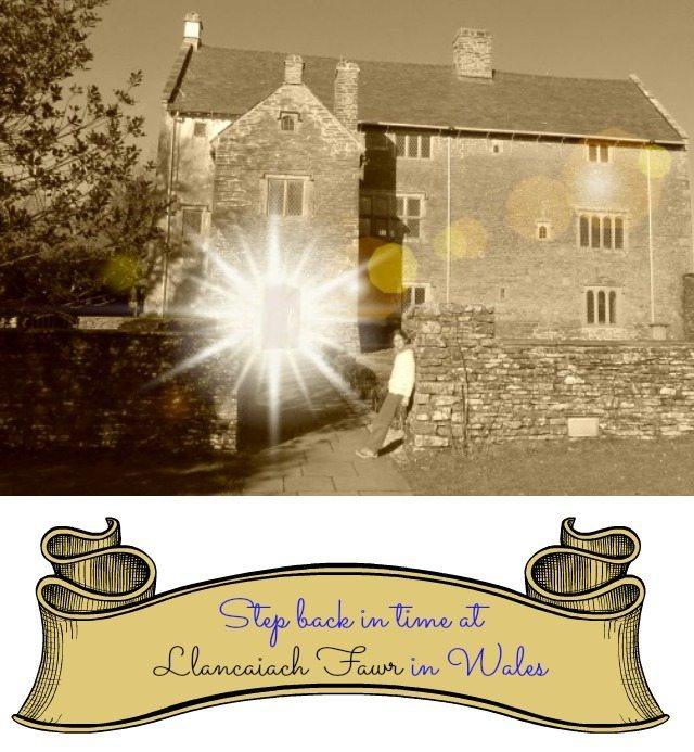 Step back in time in Llancaiach Fawr in Wales to 1645 and the Civil War