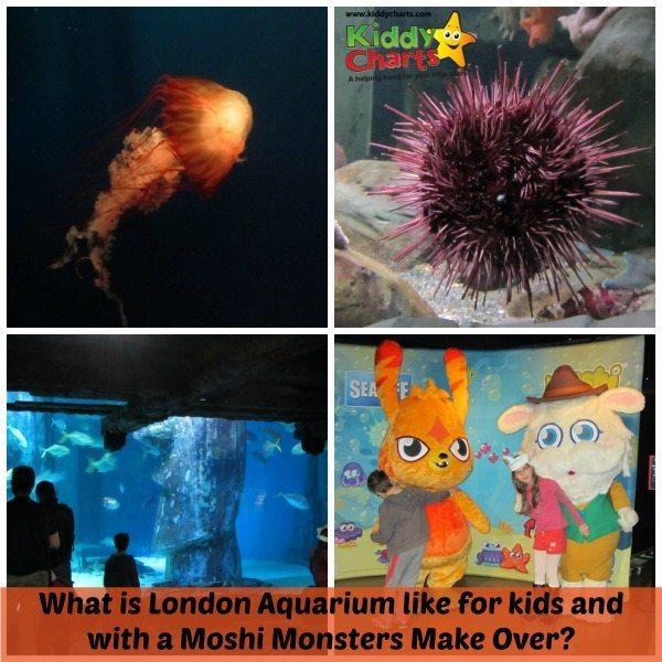 London Aquarium: Moshi Monsters Make Over!
