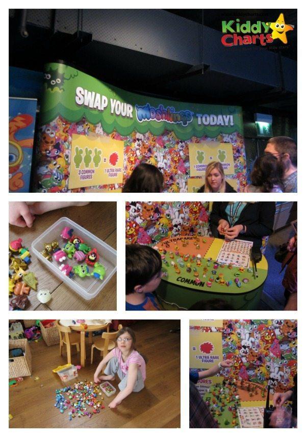 London Aquarium: Moshling swap shop