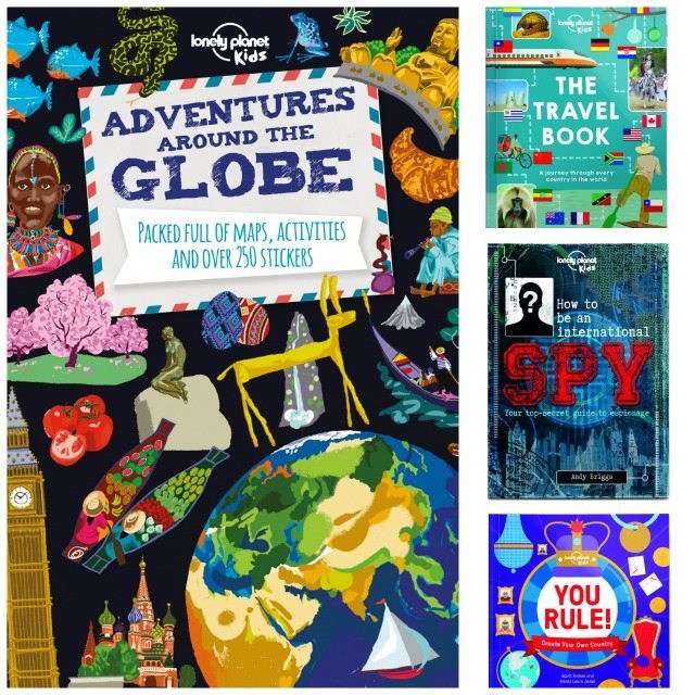 Lonely Planet travel books to giveaway on the blog. Closes on December 10th.