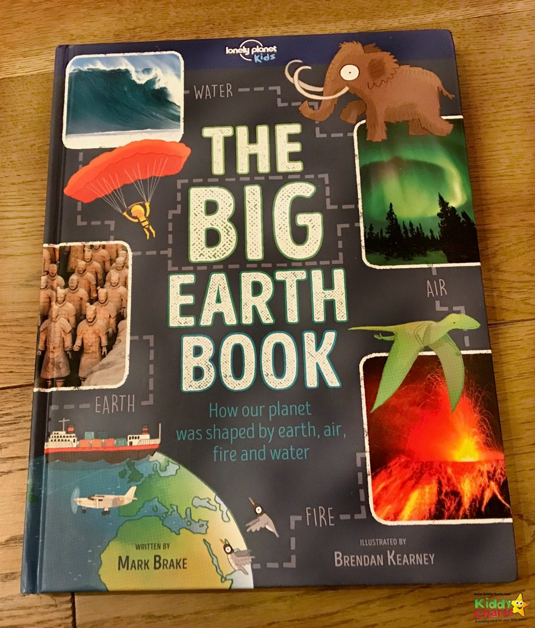 This is a great book for the kids - the Big Earth Book - explore all the elements in a fun and informative way. Thanks Lonely Planet Kids.