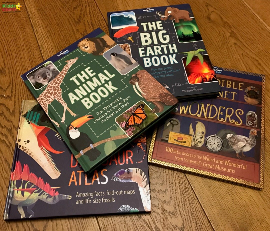 Lonely Planet Kids book reviews from us today - four fantastic books that the kids will love! #books #reading #homeschool
