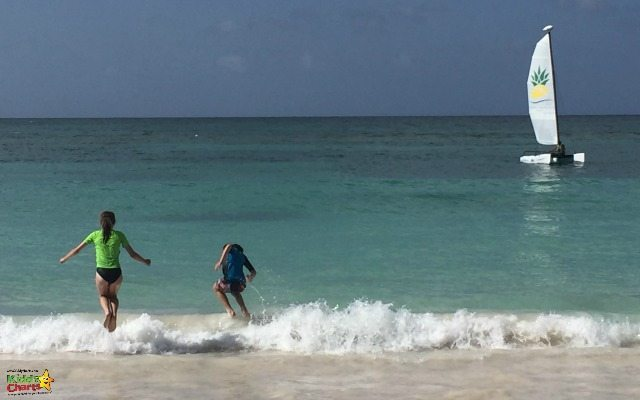 Long Bay is only a five minute walk from the Verandah resort and spa and is well worth a trip for its glorious sand and wave jumping!