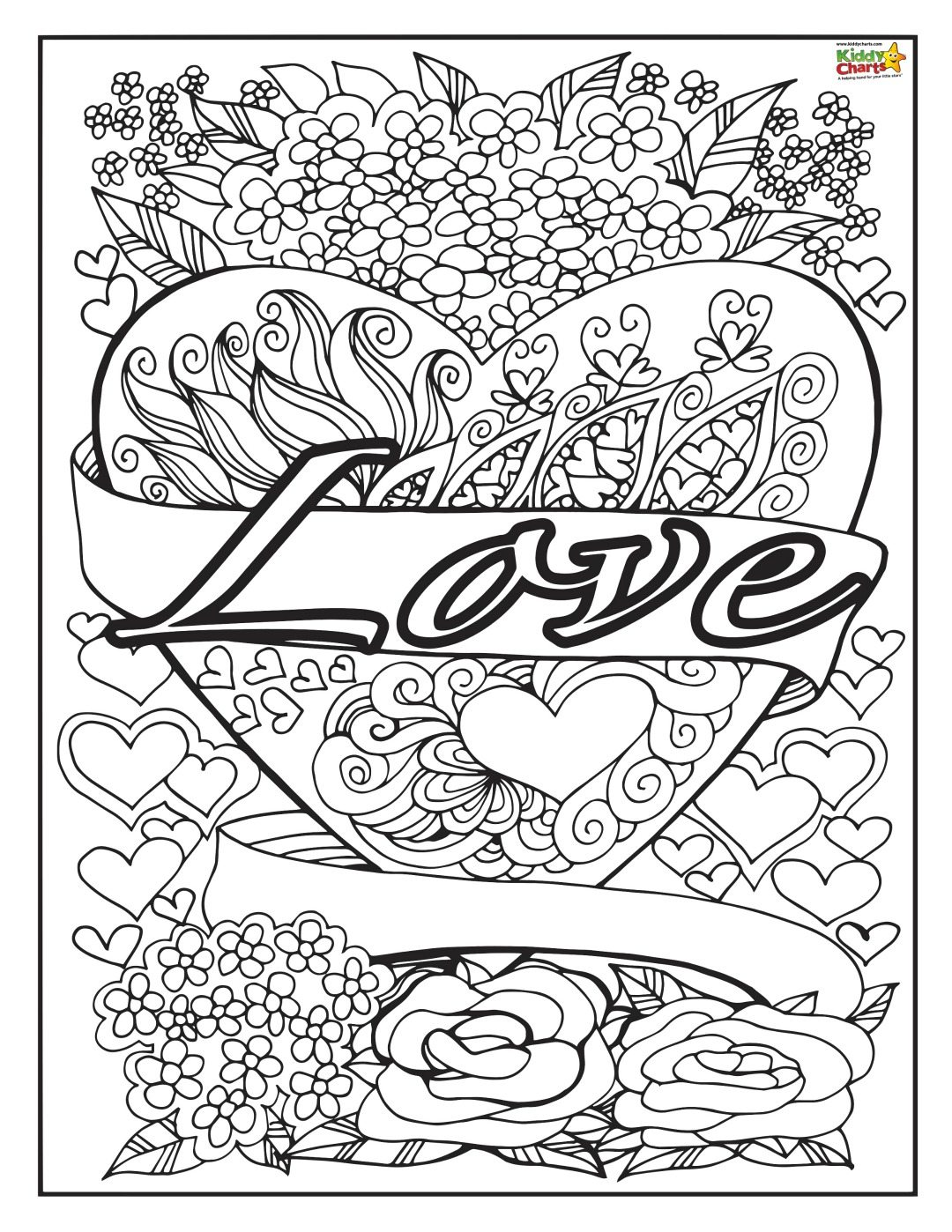 Some gorgeous love coloring pages for adults and kids, as part of our Kindness series of resources. Do check the other resource out on the site.