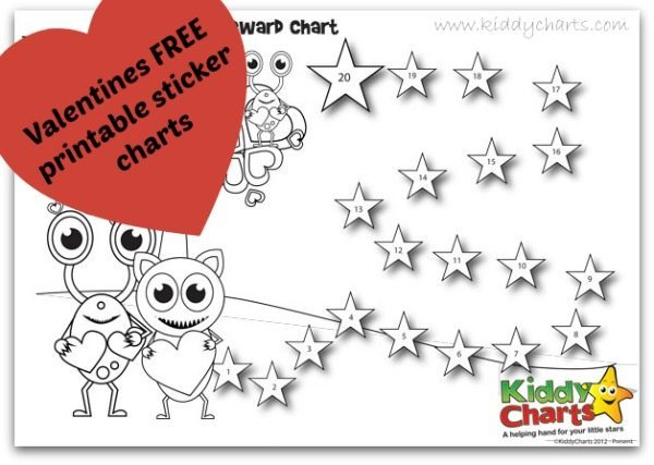Behaviour Charts for Valentines: Header