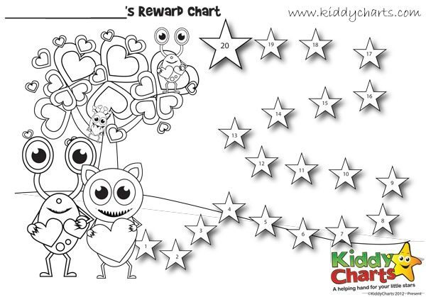 Behaviour Chart: Monsters