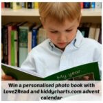 Advent Calendar  #7: #Win Love2Read personalised photo book