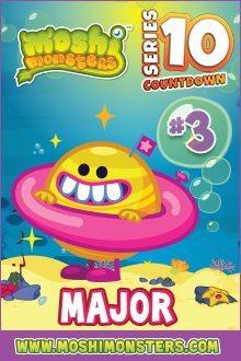Moshi monsters series 10: Major