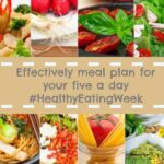 How to meal plan so kids get their 5 a day #HealthyEatingWeek
