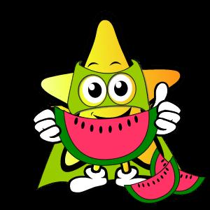 Melon Five a Day Charts Star Superhero