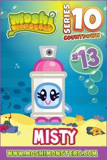 Misty Moshi Monsters Series 10