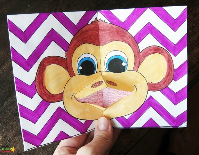 Gorgeous Chinese New Year card, complete with a little Monkey for a Monkey. Perfect for this year in the Year of the Monkey