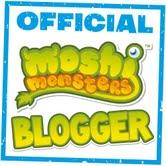 Official Moshi Monster Ambassador Badge