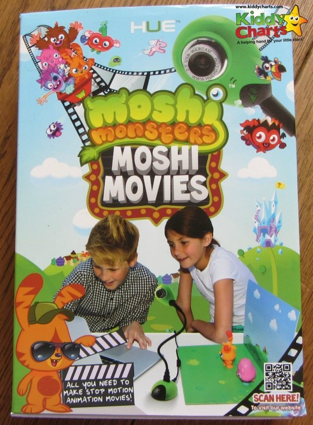 Moshi Monsters Hue Animation software