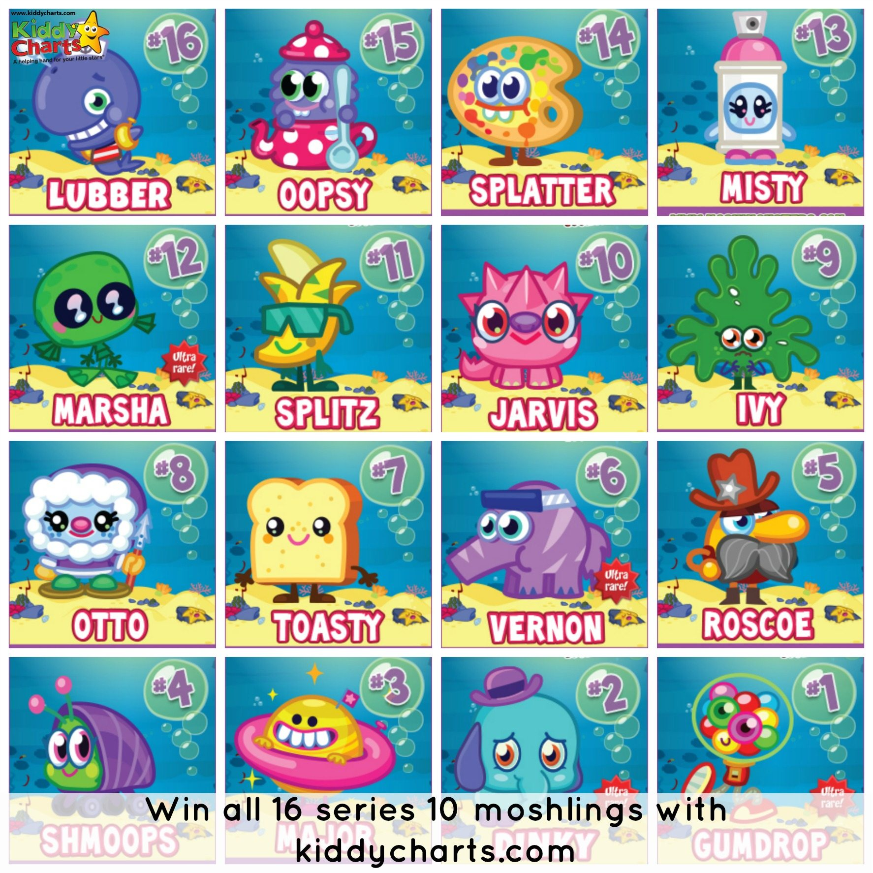 Moshi Monsters Series 10: Win a complete set