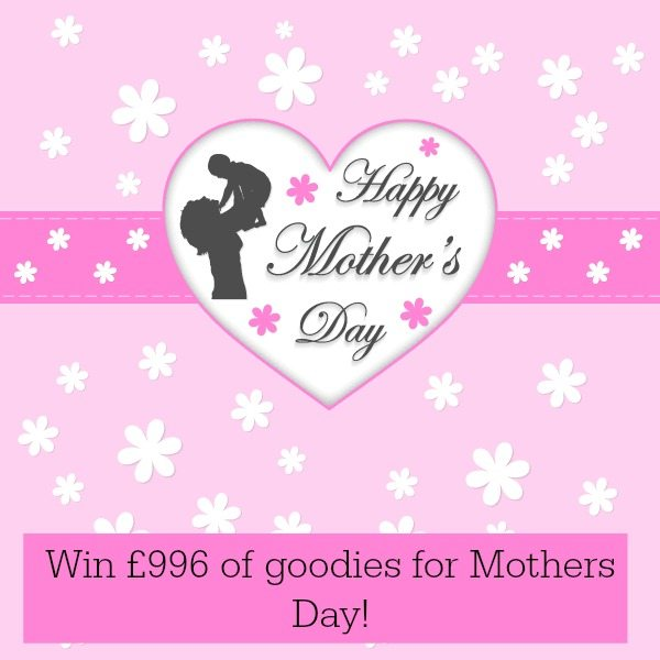 Mothers Day competition for £996 of good - why wouldn't you. Closes on 6th March.