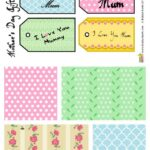Printable paper and tags for your Mothers Day messages and gifts