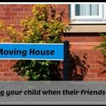 How to help your children when their friends move house