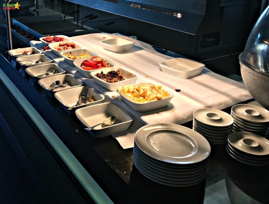 The Movenpick Den Bosche hotel cooked breakfasts were to die for - and the kids LOVED them!