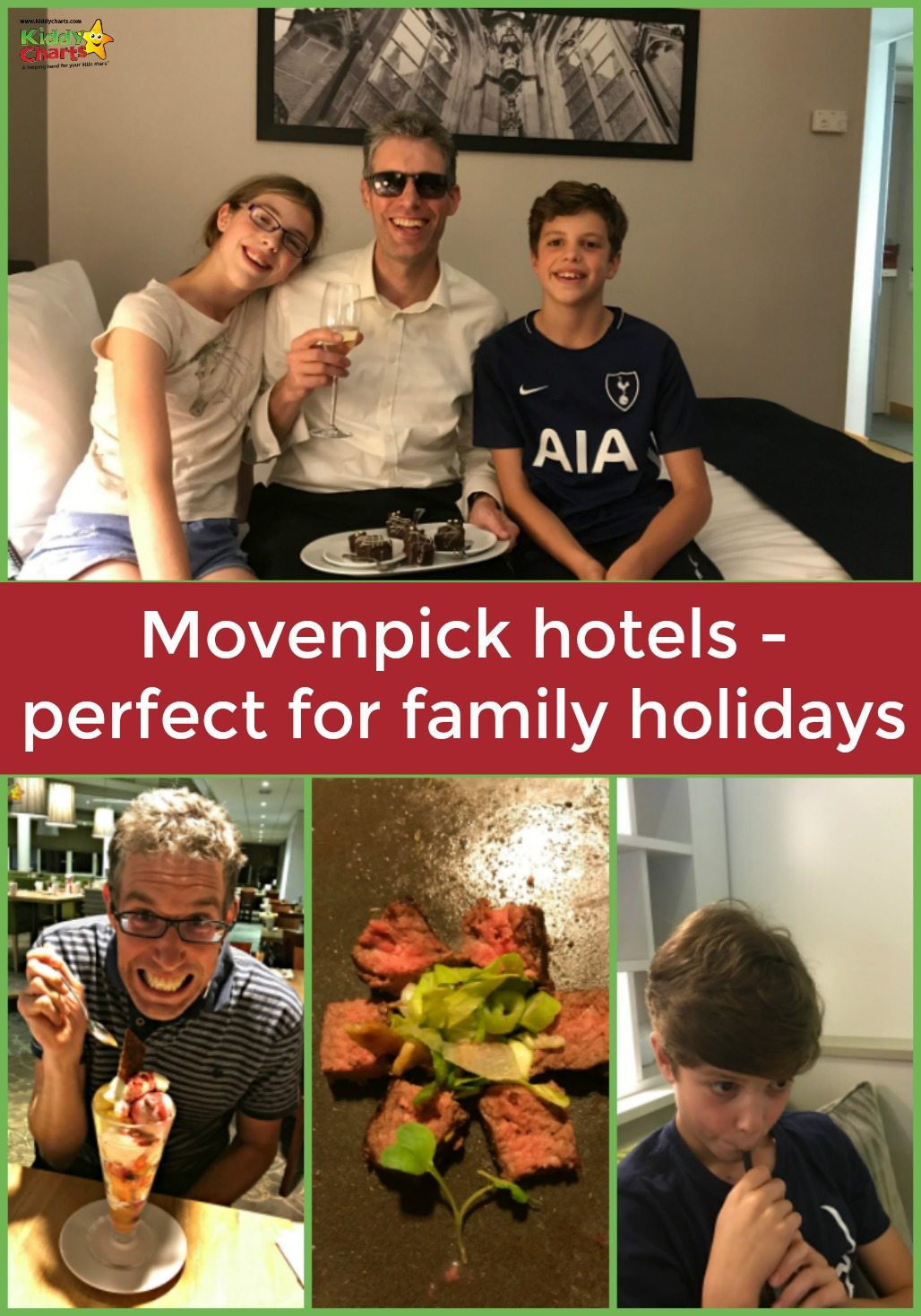 Movenpick Den Bosch offers a great choice of location for a family weekend break to the city of hertogenbosch - can you tell from the smiles?