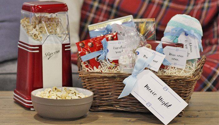 movie night gift tags
