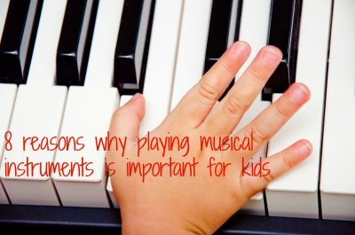 Musical instruments for kids: Take it away can help
