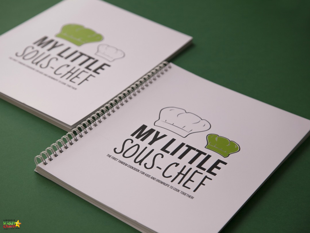 Cover of the My Little Sous Chef books