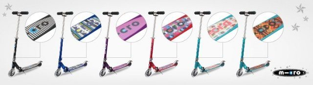 We have a new Sprite scooter to giveaway on the blog. Closes 16th December. Hurray up!