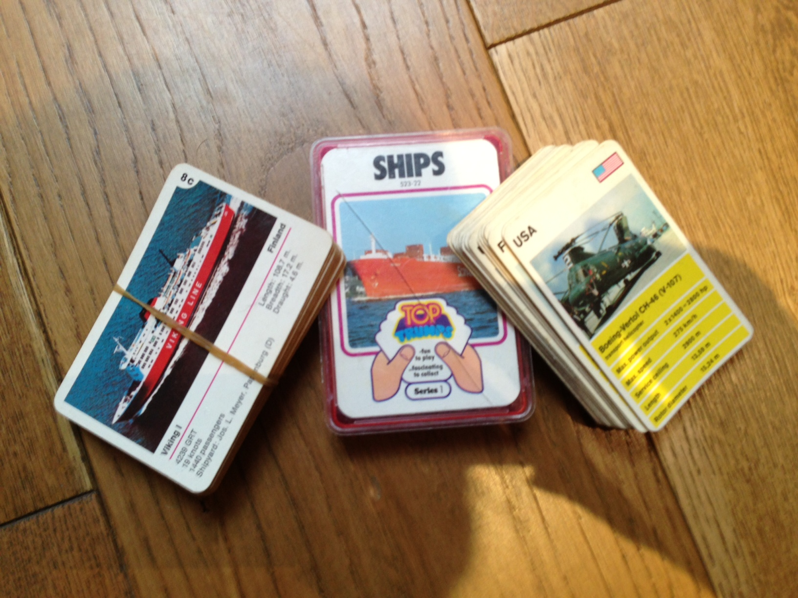 Top Trumps: My old ones