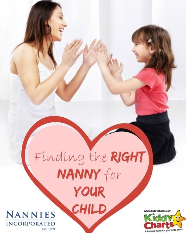 Are you looking for a Nanny? Some great advice and info on the Nannies Inc site, including how to interview a nanny, and the ability to register with them so they can find you one!