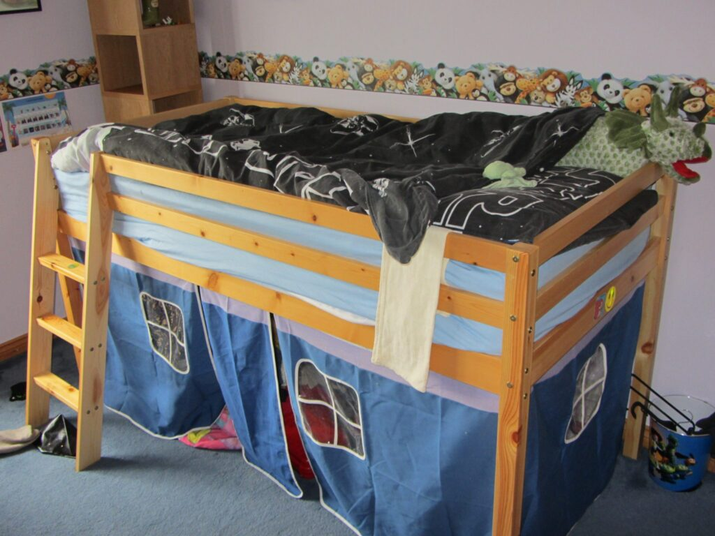 National Bed Month: Stuntboy's Bed