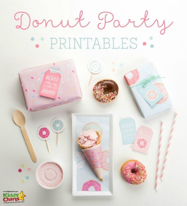 We have some wonderful free printables for national donut day parties for you - come along and see them yourself. Toppers, tags, and everything else you will need for the perfect National Donut Day party!