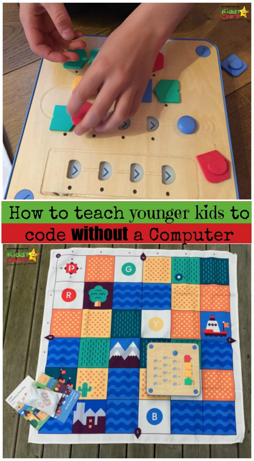 How do you teach coding to kids without a computer? THIS is how.